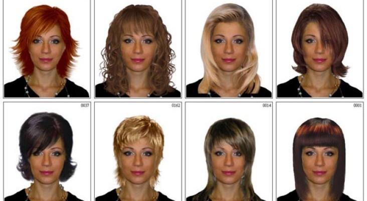 Как выбрать причёску по форме лица женщине с фото онлайн