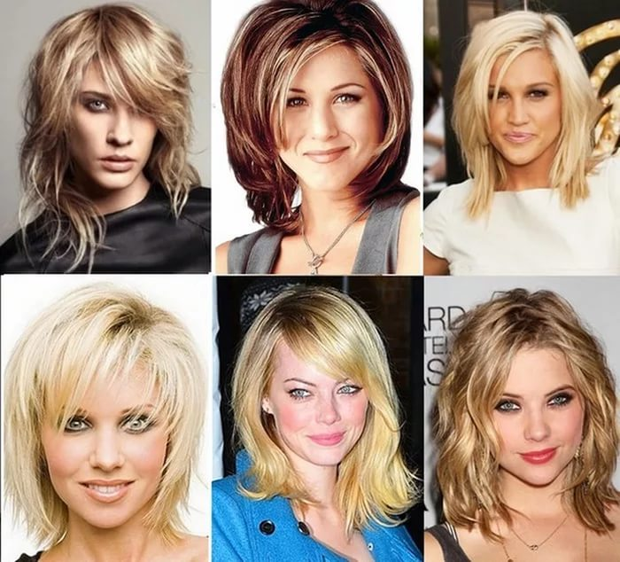 красивые женские стрижки на средние волосы фото 2017 (фото с названиями)