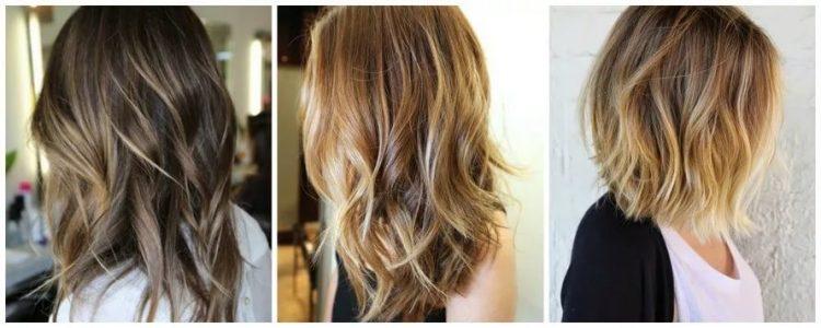окрашивание балаяж на короткие волосы (фото)